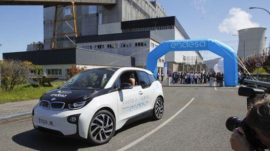 As Pontes, kilómetro cero de la vuelta a España en coche eléctrico
