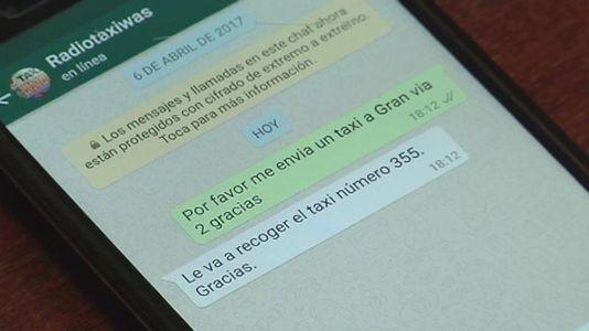 No grite ¡taxi!, escriba un whatsapp