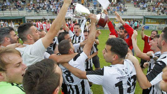 Así celebró el Cedeira el título en la Copa de Aficionados