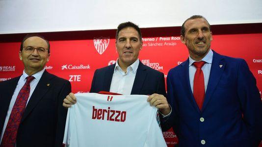 Berizzo llega a Sevilla para tomar las riendas del club nervionense