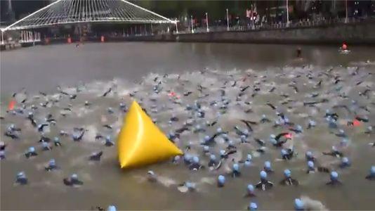 Varios atletas infectados tras nadar en la ría de Bilbao