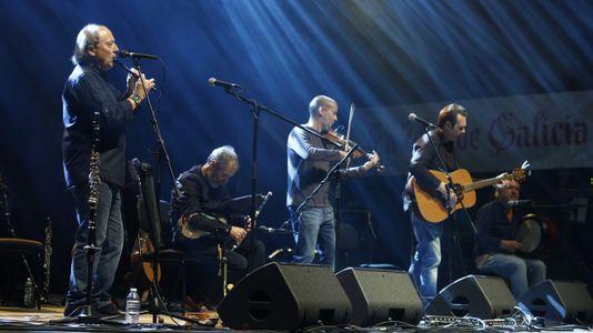 El folk gallego y el irlandés llenan A Quintana