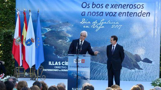 Celebración del Día de Galicia en Vigo