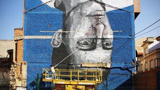 Ejemplos a seguir por Lugo de arte urbano en España