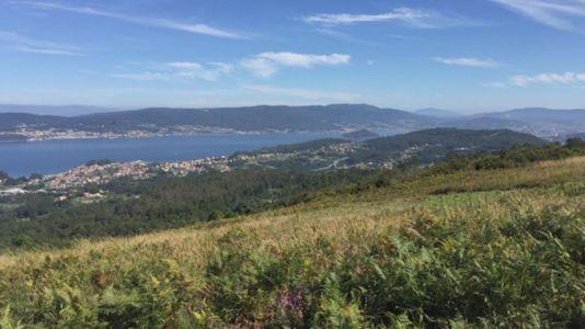 Un espectacular mirador sobre la ría de Pontevedra