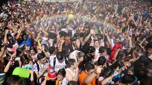 Vilagarcía ya disfruta de la Festa da Auga