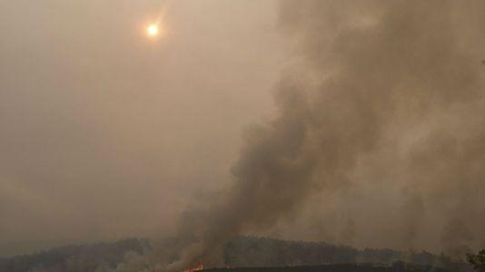 El incendio de La Cabrera en León