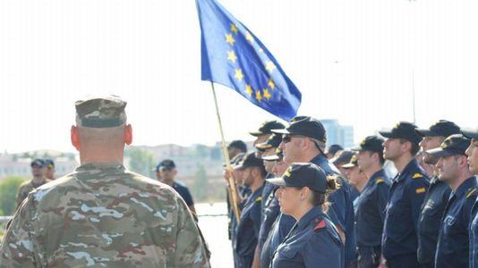 El «Cantabria» coge el mando de la operación Sophia