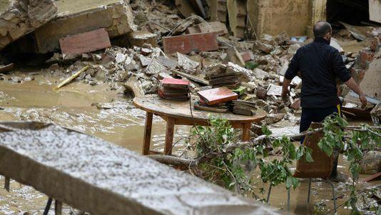Un fuerte temporal azota Italia