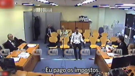 Se filtra el vídeo de la declaración de Cristiano Ronaldo ante la jueza