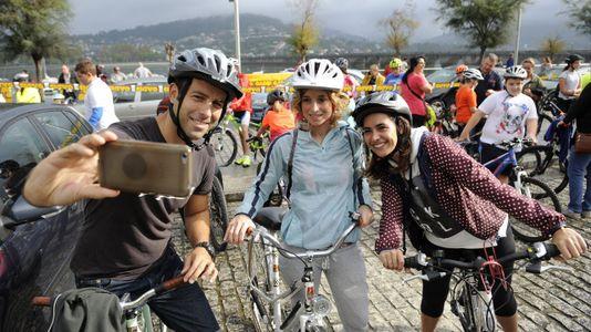 Las mejores imágenes del Día de la Bicicleta de Pontedeume