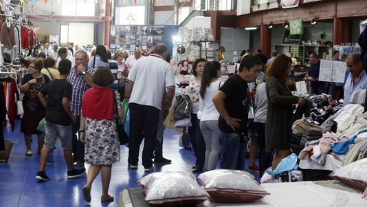 Feria de stocks en Vegadeo