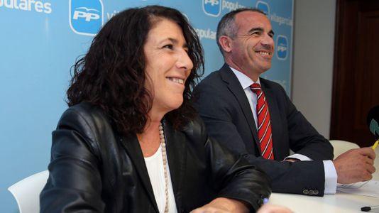 Elena Suárez nueva portavoz municipal del PP de Vilagarcía