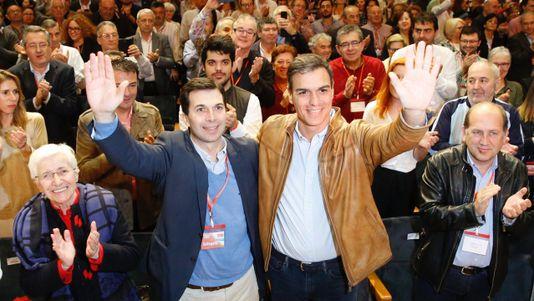 En directo, la intervención de Pedro Sánchez ante los socialistas gallegos