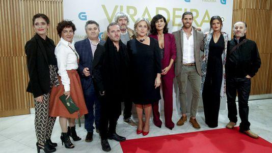 Preestreno de «Viradeira» en Santiago