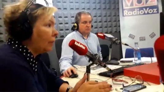 Debate sobre el botellón en Radio Voz