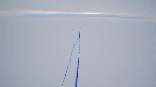Un iceberg a la deriva de 5.800 kilómetros cuadrados