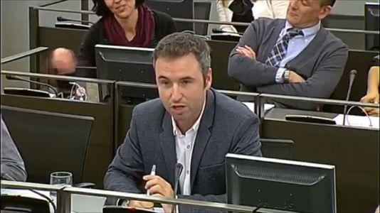 El diputado que emuló a Chiquito de la Calzada en el Congreso