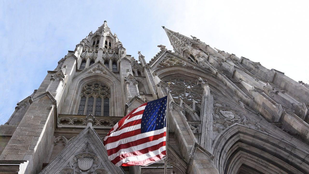 Imagen de la catedral de Nueva York