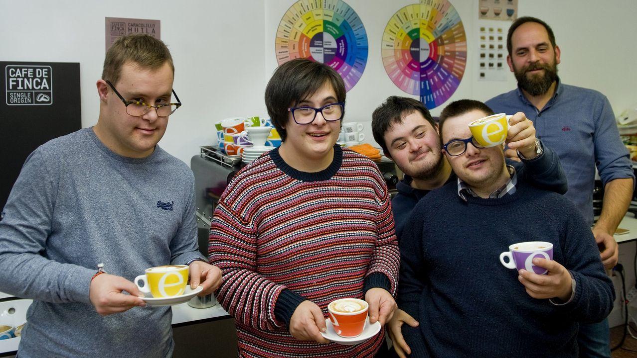 La inclusión también se sirve en una taza de café.Grupo guardia civil de Delitos contra las Personas