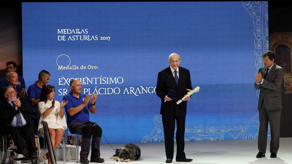 Los actos de la entrega de Medallas de Asturias.Daniel Ripa