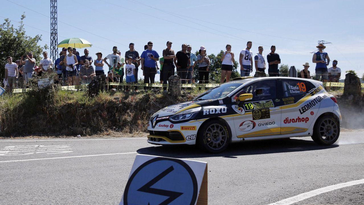 Las mejores imágenes del Rali de Ourense