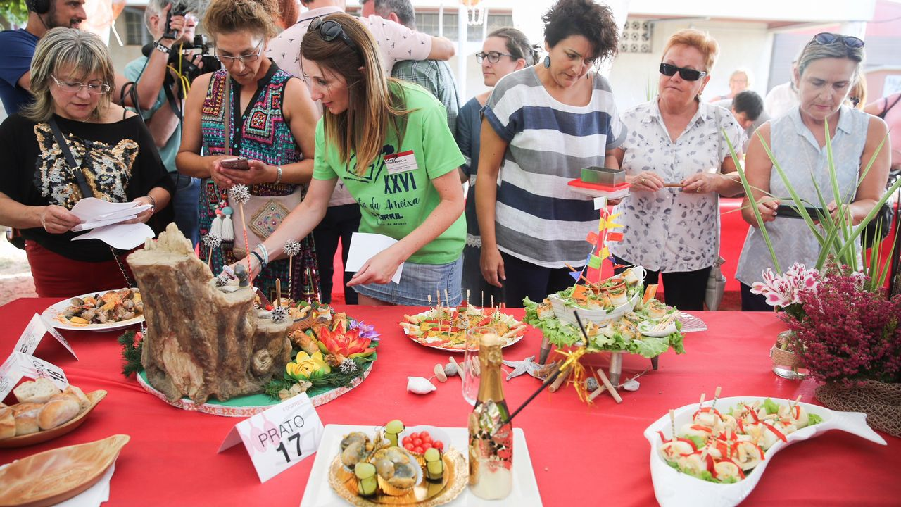 As imaxes da Festa da Ameixa de Carril