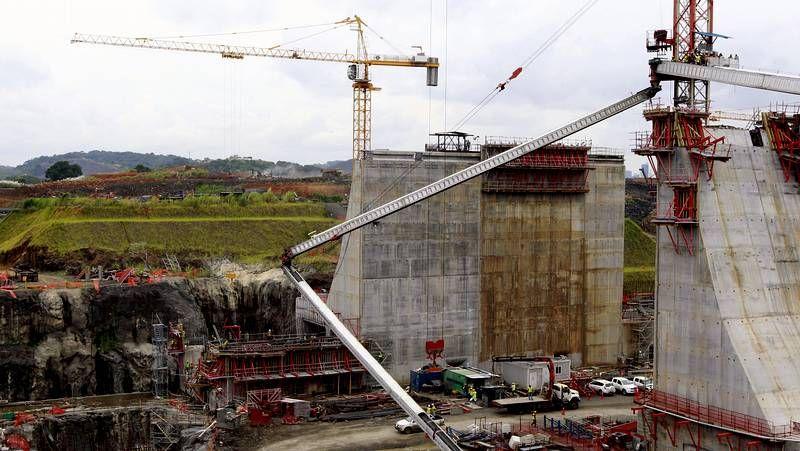 Fiasco en las obras del canal de Panamá