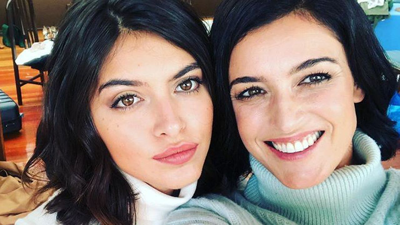 Blanca Romero y su hija Lucía Rivera