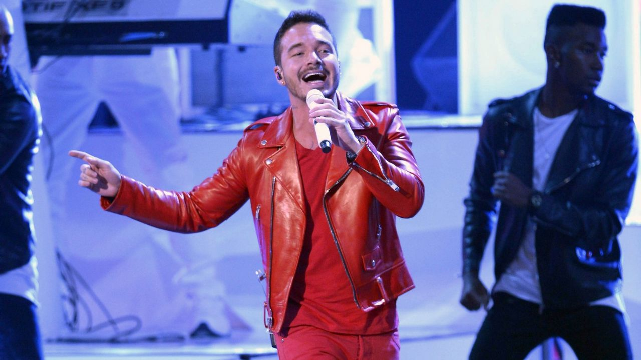 El cantante colombiano J Balvin