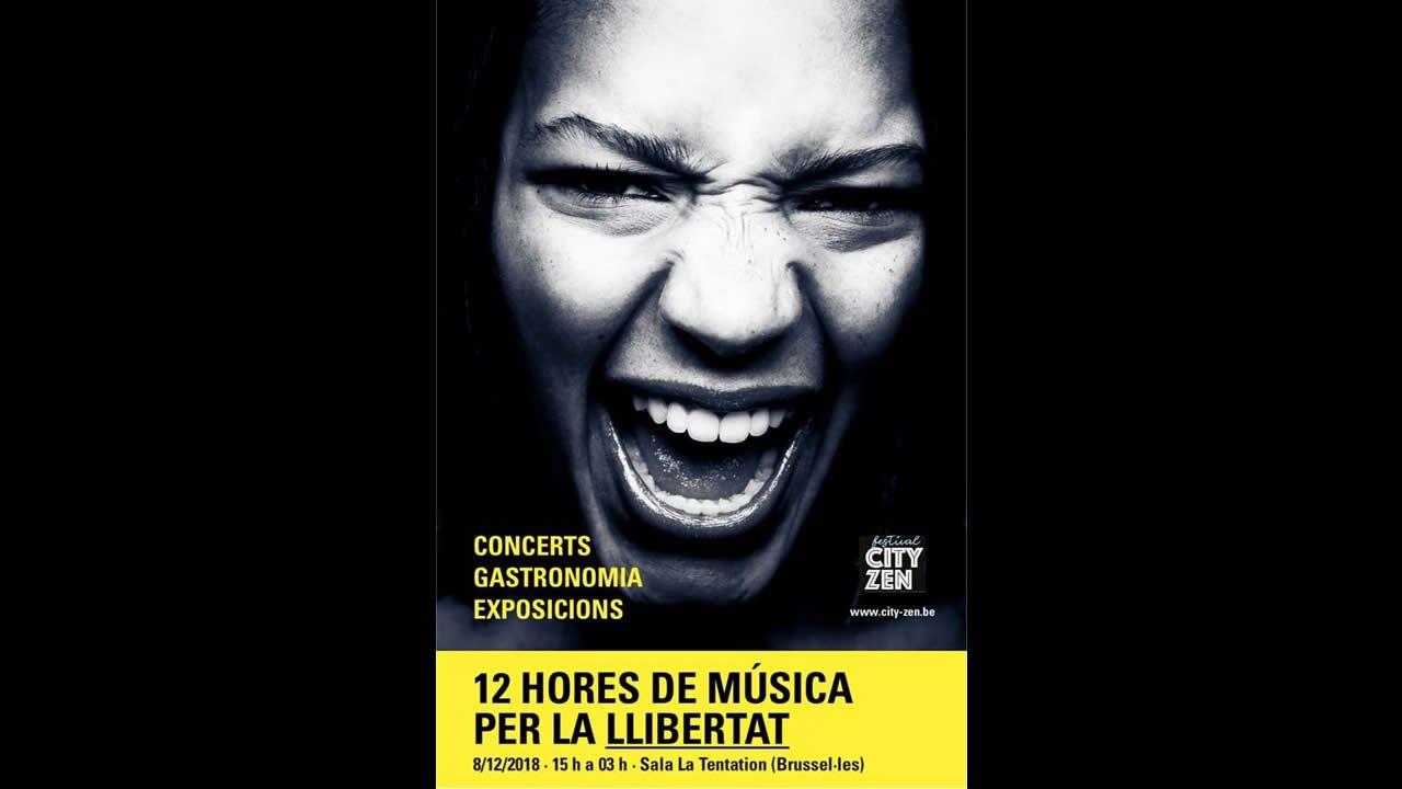 ¿Habrá purga en los Mossos?.Cartel del evento organizado en Bruselas