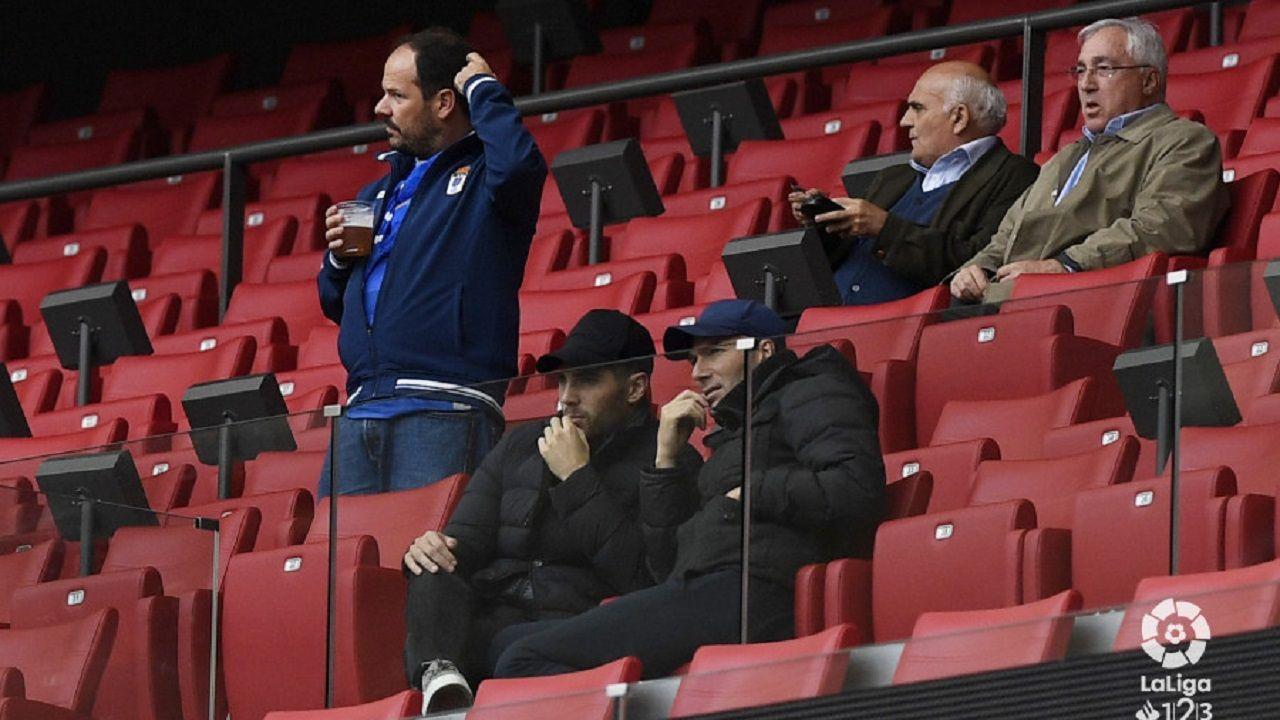 Zidane en el Wanda Metropolitano