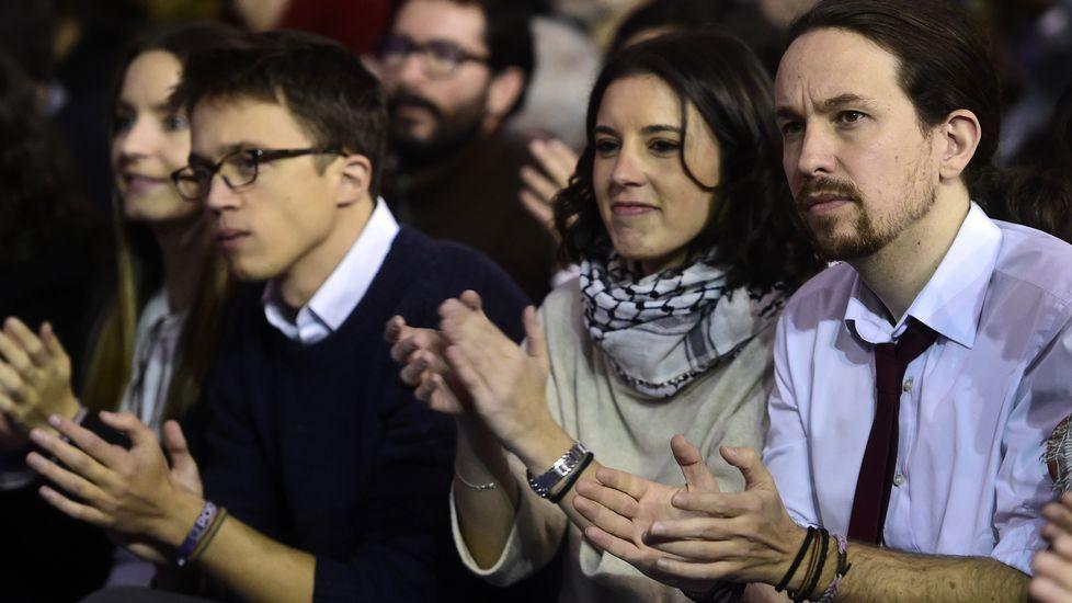 La lista de Iglesias se impone y revalida su liderazgo en Podemos.Estefanía Torres