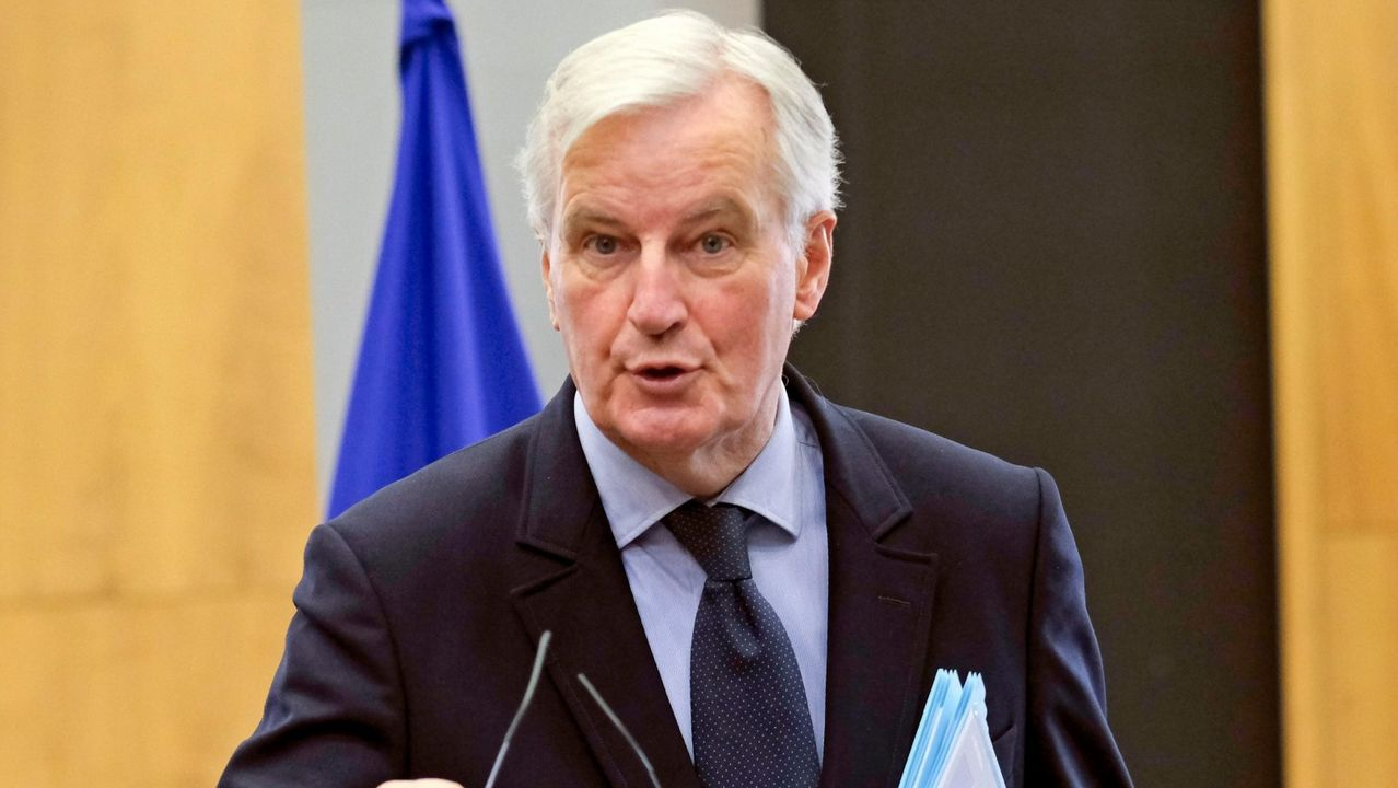 El jefe negociador europeo para el «brexit», Michel Barnier.