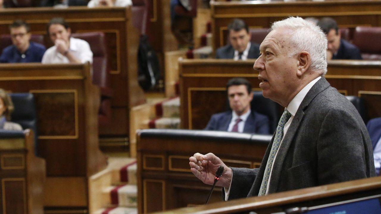 Dolors Montserrat: «Vamos a poner freno al fake relato del independentismo».Margallo, en su etapa como ministro de Exteriores
