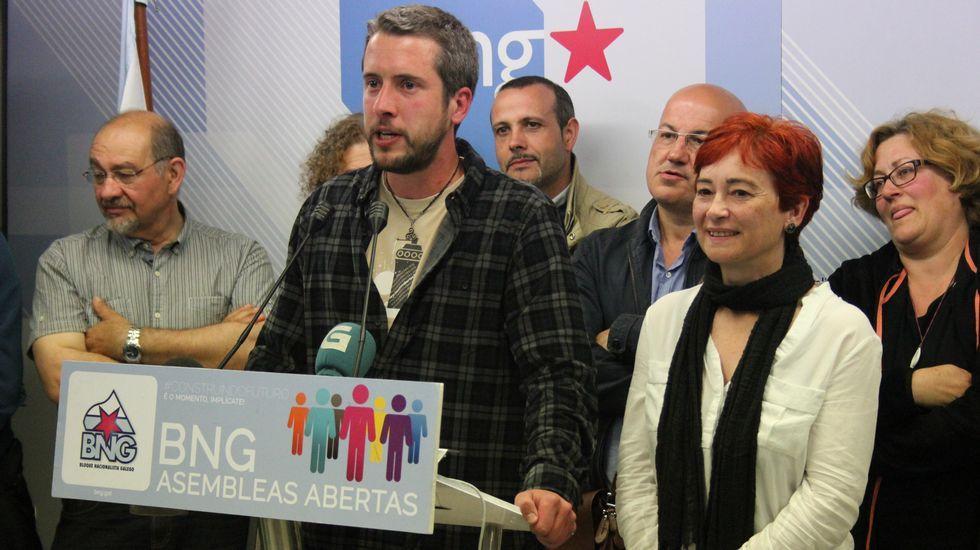 La noche electoral el Lugo