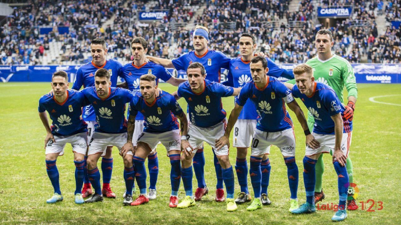 Gol Linares Cadiz Real Oviedo.Once incial del Real Oviedo ante la Cultural