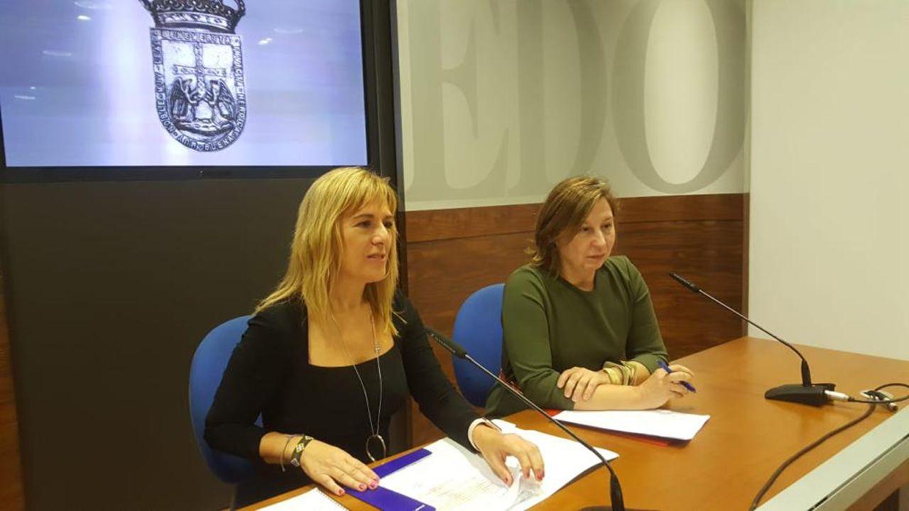 Marisa Ponga y Goretti Álvarez