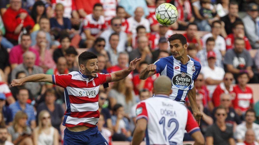 El Granada - Deportivo, en fotos