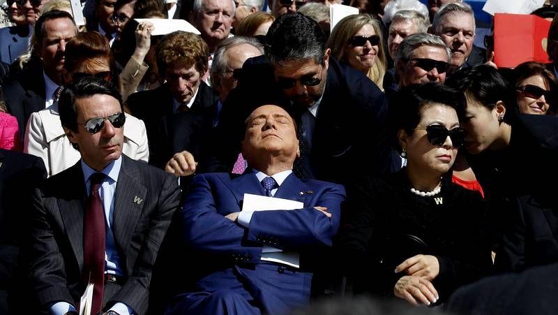 Aznar, entre los invitados al homenaje