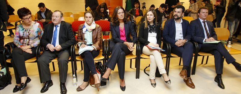 Juicio contra los siete concejales del PP de Santiago