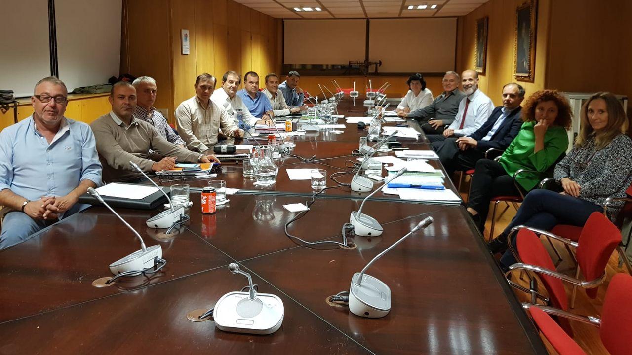 Reunión de los sindicatos mineros con el ministerio