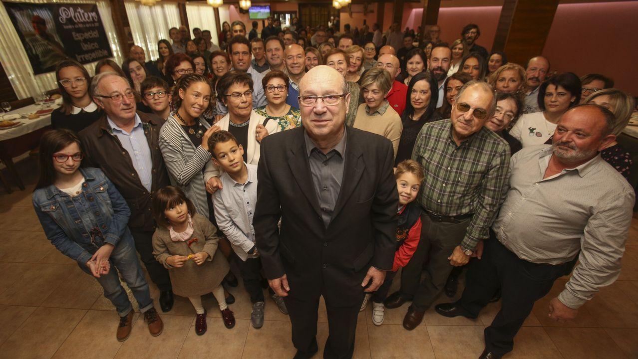 El homenaje al profesor Antonio Platero, en imágenes.