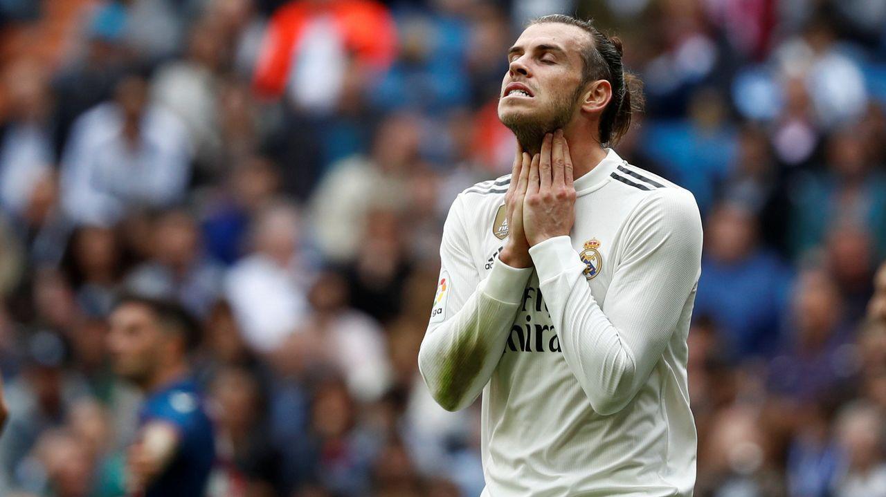 Las apuestas de futuro del Real Madrid desde el 2015.Amaia Gorostiza y Florentino Perez, en el palco de Ipuruá