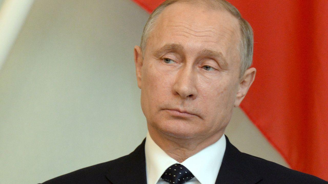 Putin de vacacionesen Siberia