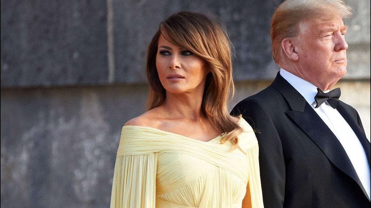 ¿Qué le ocurre a Melania Trump?.