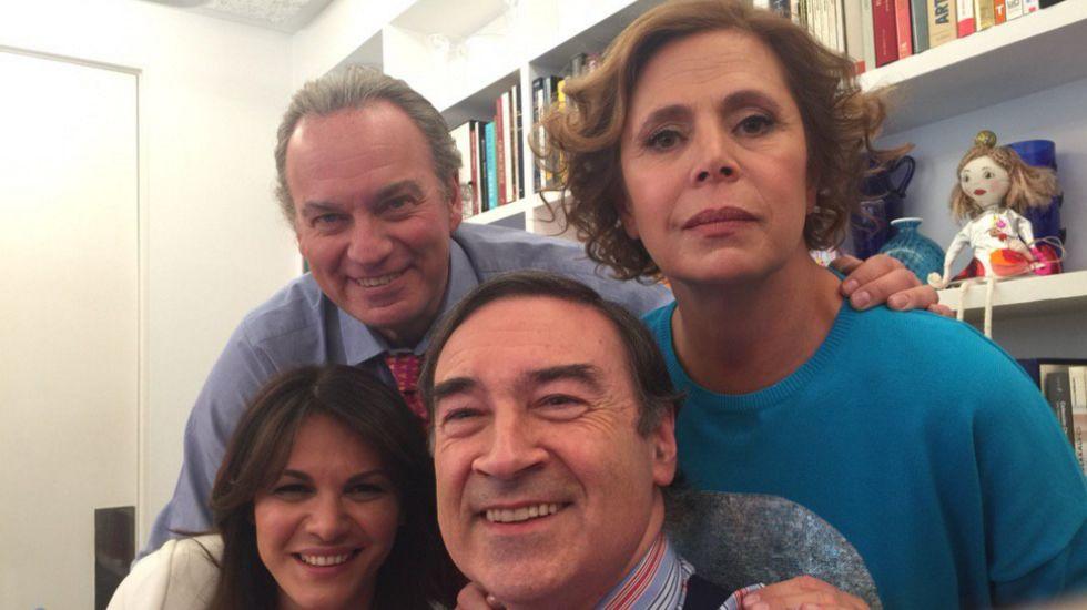 .TVE no emitirá el programa que grabó en casa de Ágatha Ruiz de la Prada y Pedro J. Ramírez