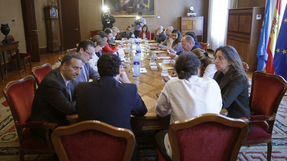 .Reunión de la Junta de Portavoces