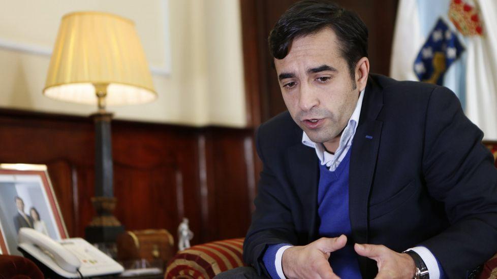 José Manuel Rey Varela. Conselleiro de Política Social.