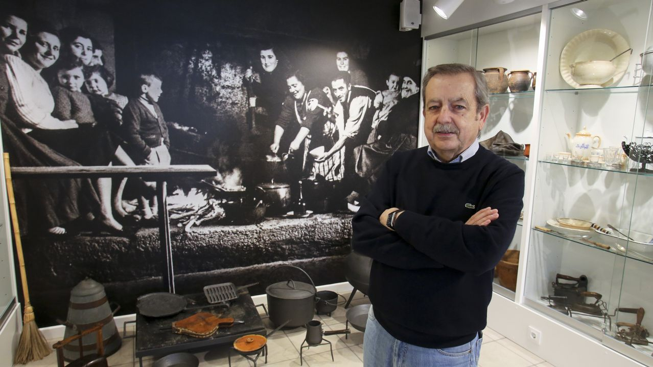 «Posiblemente, un 70% dos veciños das Pontes non coñecen este museo».Imagen del incendio en Narahío